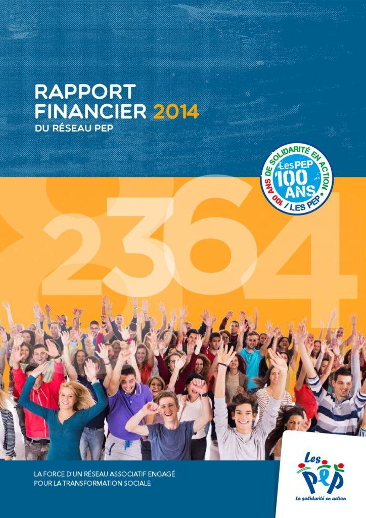 thumbnail of Rapport Financier 2014