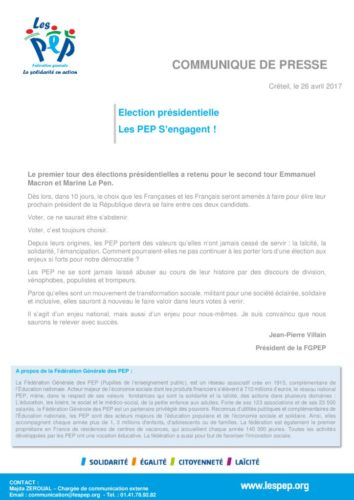 thumbnail of communiqué de presse ELECTIONS PRESIDENTIELLES 2017 version externe
